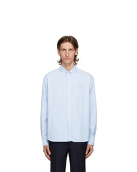Kenzo Blue Oxford Tiger Shirt