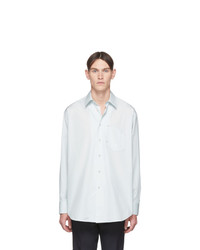 Jil Sander Blue Pocket Shirt