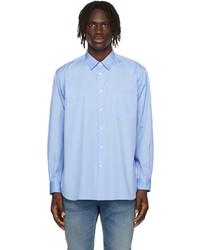 Comme Des Garcons SHIRT Blue Poplin Forever Shirt