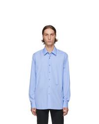 Prada Blue Poplin Shirt