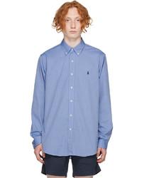 Polo Ralph Lauren Blue Poplin Shirt