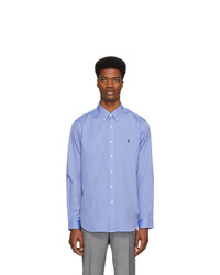 Polo Ralph Lauren Blue Stretch Shirt