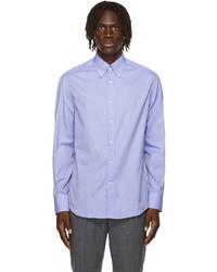 Brunello Cucinelli Blue Twill Shirt