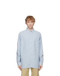 Nanamica Blue Wind Shirt