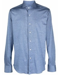 Canali Button Front Shirt