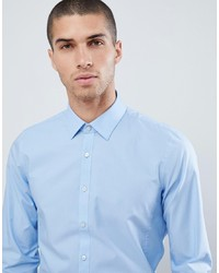 Calvin Klein Extra Slim Stretch Shirt Lt Blue
