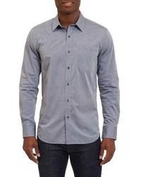 Robert Graham Groves Tailored Fit Sport Shirt