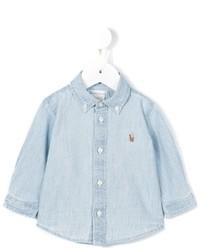 Ralph Lauren Kids Logo Denim Shirt