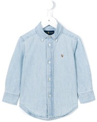Ralph Lauren Kids Logo Denim Shirt