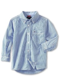 Tommy Hilfiger Kids Tommy Stripe Shirt Boys Long Sleeve Button Up