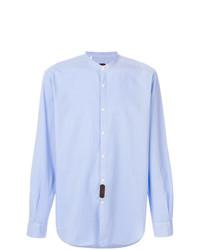 Mp Massimo Piombo Mandarin Collar Shirt