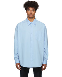 AMI Alexandre Mattiussi Oversized Poplin Shirt