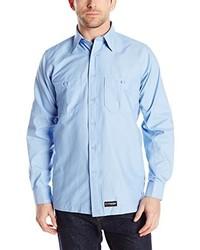 R&K Wrangler Workwear Long Sleeve Work Shirt