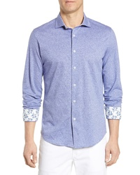Bugatchi Regular Fit Cotton Sport Shirt