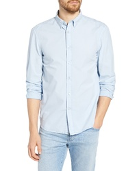 French Connection Regular Fit Overdyed Sport Shirt