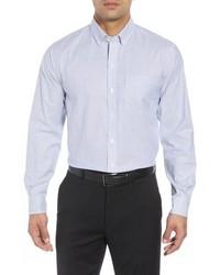 Cutter & Buck Regular Fit Stripe Stretch Oxford Shirt