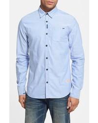 Scotch & Soda Oxford Shirt Light Blue Large