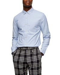 Topman Skinny Fit Oxford Shirt