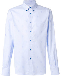 Alexander McQueen Skull Button Down Shirt