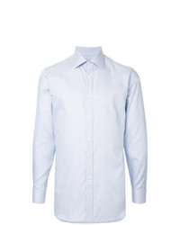 Gieves & Hawkes Thin Striped Long Sleeve Shirt