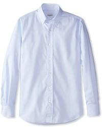 Tod's Etiquette Franklin Stripe Oxford Shirt