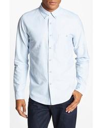 Topman Oxford Cloth Shirt Light Blue Small