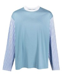 Marni Panelled Design Long Sleeve T Shirt