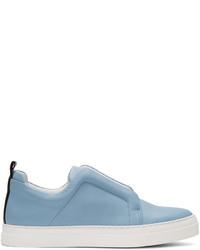 Blue slider sneakers medium 1196010