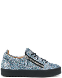 Giuseppe Zanotti Design Gail Glitter Low Top Sneakers