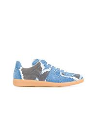 Maison Margiela Replica Denim Sneakers