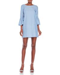 Ruffle sleeve shift dress medium 4980152