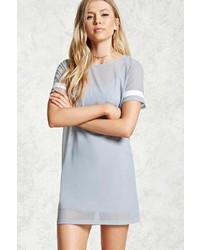 Forever 21 Sheer Mesh T Shirt Dress