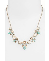 Marchesa Bright Paradise Frontal Necklace