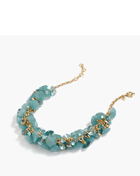 J.Crew Lucite Gem Necklace