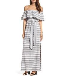 Off the shoulder maxi dress medium 3686158