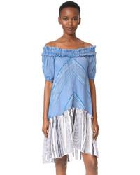 Lemlem Semay Off Shoulder Dress