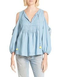 Rebecca Minkoff Cold Shoulder Blouse