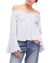 Free People March To The Beat Off The Shoulder Top