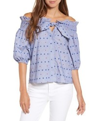 Spade off the shoulder blouse medium 4950845