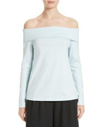 Tibi Knit Off The Shoulder Top