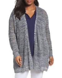 Plus size mesh stitch cardigan medium 3944357