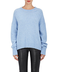 Helmut Lang Brushed Wool Blend Sweater