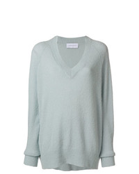 Christian Wijnants Oversized V Neck Sweater