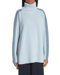Stella McCartney Stud Detail Turtleneck Sweater