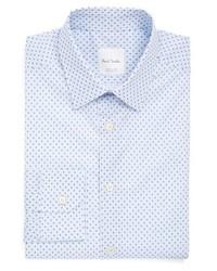 Paul Smith London Extra Trim Fit Paisley Print Dress Shirt