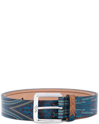 Etro Paisley Buckled Belt