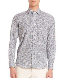 Paisley long sleeve shirt medium 617350