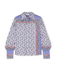 Chloé Printed Silk Twill Shirt