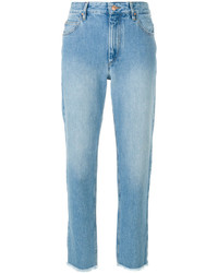 Etoile Isabel Marant Isabel Marant Toile Slim Fit Frayed Trim Pants