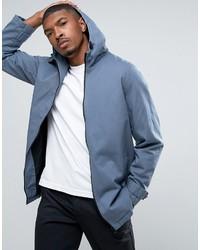 Asos Lightweight Parka Jacket In Blue